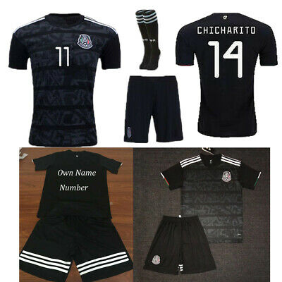 19/20 Kids Football Full Kit Youth Jersey Strips Soccer Sports Outfit Suit 3-14Y