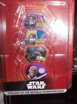 NEW & SEALED! Disney Infinity 3.0 Star Wars Rise Against the Empire Power Discs