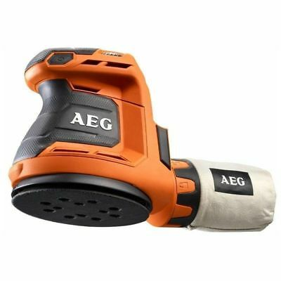 AEG Powertools 18V 125MM Random Orbit Sander Vari Speed Ergonomic Grip-body only