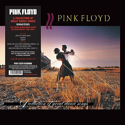 Pink Floyd 'A Collection Of Great Dance Songs' Vinyl LP 2017 180g NEW AND SEALED
