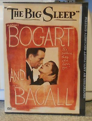 The Big Sleep (DVD, 2000 Contains Two Versions) RARE 1945 DRAMA BRAND NEW