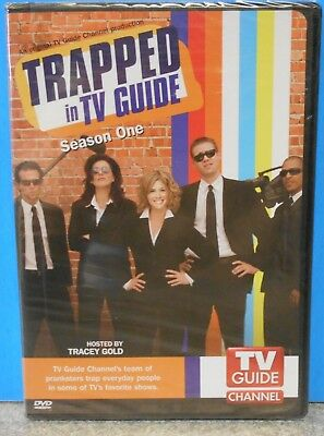 TV Guide Presents - Trapped in TV Guide: Season 1 (DVD 2007 2-Disc)  BRAND NEW