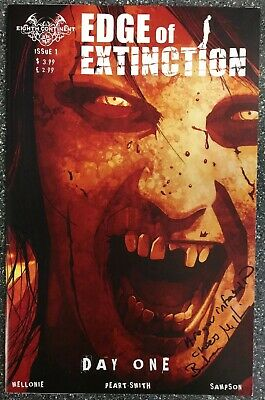 Edge Of Extinction #1 Signed By Mellonie