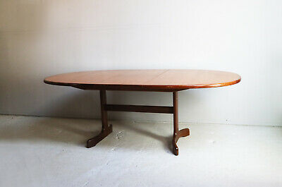 1970's mid century G Plan large extending dining table