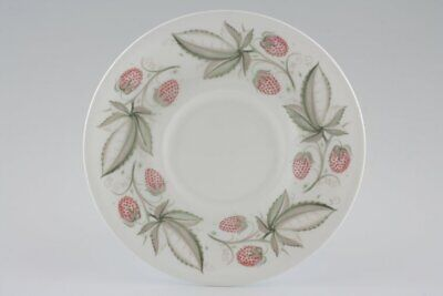 Susie Cooper - Wild Strawberry - Plain Edge - Sauce Boat Stand - 88744G