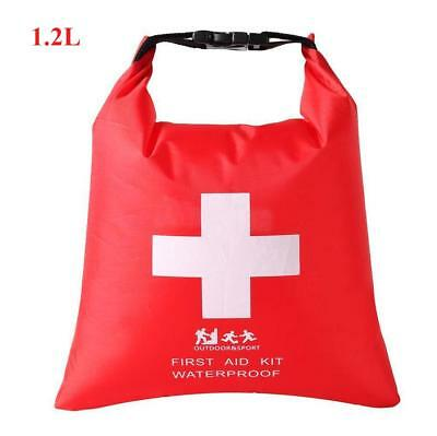 1.2L First Aid Kit Pack Bag Emergency Medical Pouch Travel Dry Bag Camping Hike