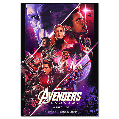 Avengers Endgame Movie Poster - Dolby Cinema Art Work - High Quality Prints