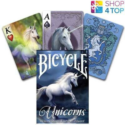 Bicycle Anne Stokes Unicorns Playing Cards Deck Fantasy Art Usa Uspcc New