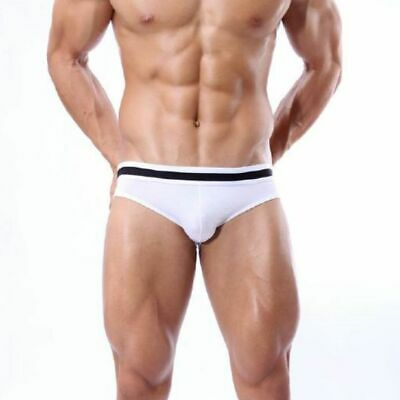 Brave Person 1115 Sexy Gay´le Push Up Männer Modal Slip  🌟 Weiss 🌟