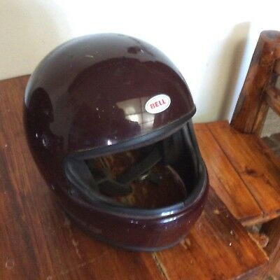 VINTAGE 1980 BELL TOUR STAR HELMET GOod CONDITION MADE IN USA 57