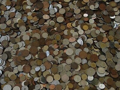 @Nice Unsearched lot of nice mix of World Foreign Coin 1.35 LB Lot & gift always