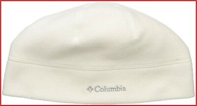 60f894735c850 Columbia Thermarator Omni-Heat Hat Rich Light Bisque Fleece Beanie  20 NWT!  S