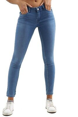 Womens Ex High Street Low Rise Stretchy Skinny Denim Jeans Womens Jeggings Pants