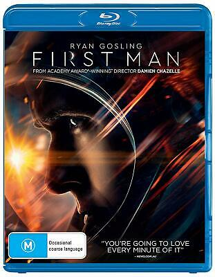 First Man (Blu-ray, 2019), NEW SEALED AUSTRALIAN RELEASE