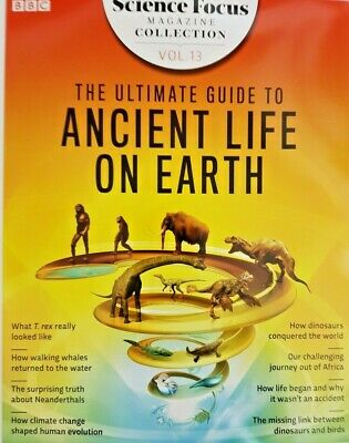 Bbc Focus Magazine Collection 2019 Vol.13=Ultimate Guide To Ancient Earth Life