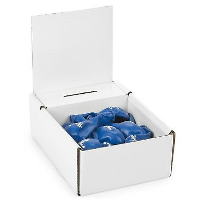 Cardboard Charity Collection box Display Boxes - White A5 (pack of 5)