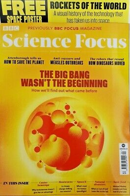 Bbc Science Focus Magazine April # 334 = The Big Bang Wasn't The Beginning