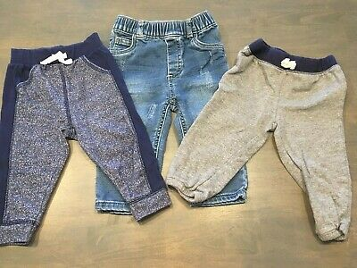 Okie Dokie 12-18 Months Pants Blue Boys Lot 2 Different Styles Childrens Place Boys' Clothing (newborn-5t)