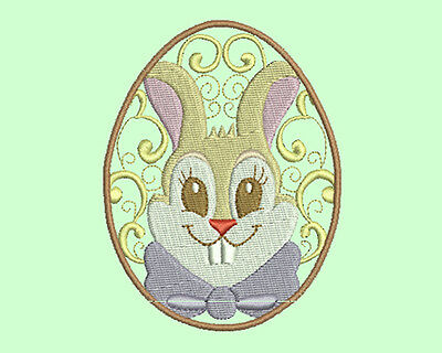 EASTER FRIENDS -  20 MACHINE EMBROIDERY DESIGNS  10 in 4x4 and 10 in 5x7 hoop