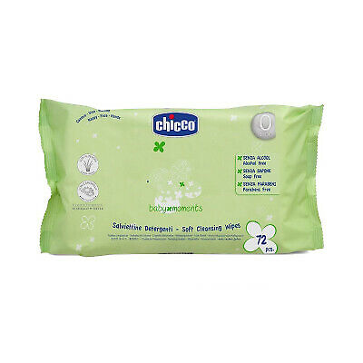 Chicco 72 Salviette Baby Moments Detergenti