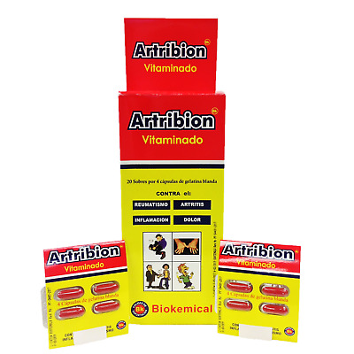ARTRIBION VITAMINADO 1 DISPLAY  20 Packs x 4 Pills  # ORIGINAL# SHIP FROM USA