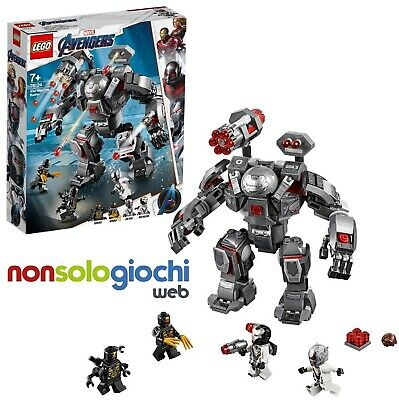 LEGO 76124 SUPER HEROES MARVEL AVENGERS war machine buster -nuovo-Italia