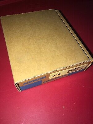 Aiphone LE-D SURFACE AUDIO DOOR STATION In Original Retail Box