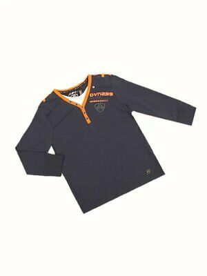 Dunnes Boys Dark Blue DVN299 motif mock Top Age 8-9 9-10 10-11 NEW SALE!