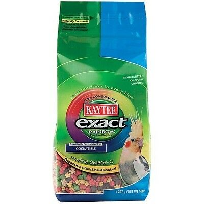 Kaytee Exact Rainbow Complete Food For Cockatiels - 14Oz