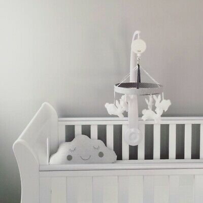 Mamas & Papas Cot Mobile Grey And White Bunnies (Used/Excellent Condition)