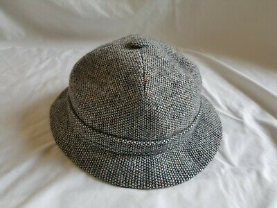 7709fbd1e43 VINTAGE KANGOL HAT Herringbone Tweed Made in England -  28.00