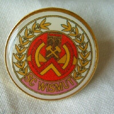 pin button badge Football Fußball-Club FC SC Wismut Karl Marx Stadt Germany