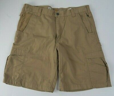fc6898bb3c CARHARTT FORCE RELAXED Fit Ripstop Cargo Work Shorts Mens Size 36 ...