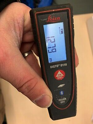 Leica Disto D110 60m Distance Measurement Laser With Bluetooth