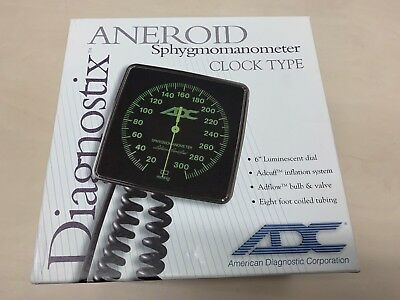 ADC Diagnostix 750W Wall Aneroid Sphygmomanometer Blood Pressure Monitor ADULT