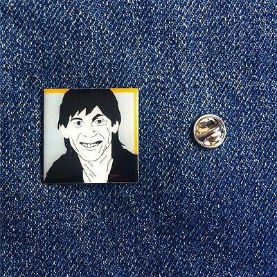 Iggy Pop Lust For Life Pin Badge Designed By Dan Wilson... David Bowie