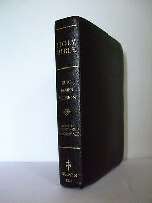 Leather Holy Bible King James Version.  Thomas Nelson