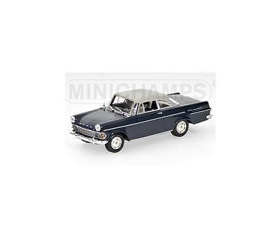 Opel Rekord P2 Coupe 1960 Blue/Grey 430040222 Minichamps 1:43 New in a box!