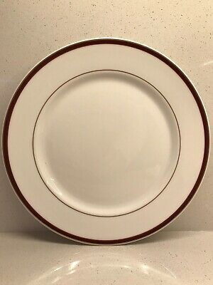 "Dudson Fine China Stoke-On -Trent England Dinner Plates 10 5/8"" (2) Nwt"