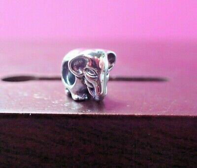 Authentic Pandora Charm Lucky Elephant 791130 Retired