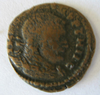 Ancient 1600 year old ROMAN IMPERIAL ERA (300-400 AD) Bronze coin very rare