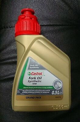 Olio Castrol Synthetic Fork Oil 10W 0,5L Forcelle