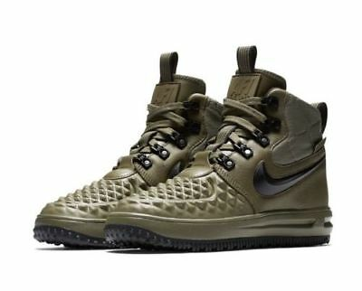 NEW YOUTH NIKE Lunar Force LF1 Duckboot Hiking Boot Black