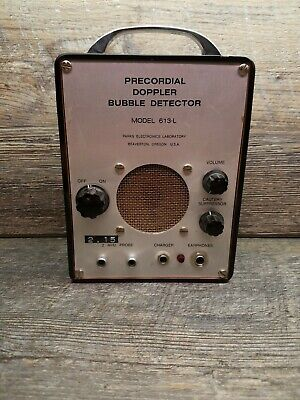 Parks Medical Electronics 613-L Precordial Doppler Bubble Detector no probe