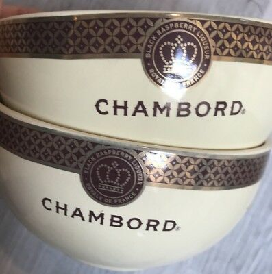 Chambord Black Raspberry Liqueur Bowl Royale De France