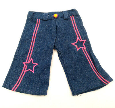 Fit For 18'' American Girl Star Denim Capri Pants Doll Clothes Bitty Baby New