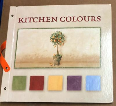 Kitchen Colours Wallpaper Sample Book Scrapbooking Paper Crafts Card Making
