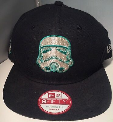 uk availability 3a1fb 59fdf Stormtroopers Star Wars Side Crest Black New Era 9Fifty Snapback Fit Cap Hat