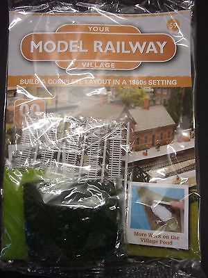 Your Model Railway Village Magazine No 59 fence sections & types of scatter