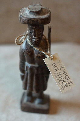 Antique Hand Carved Wooden Soldier, Rare find from an antique store.